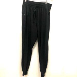 Black Medium jogger active pants